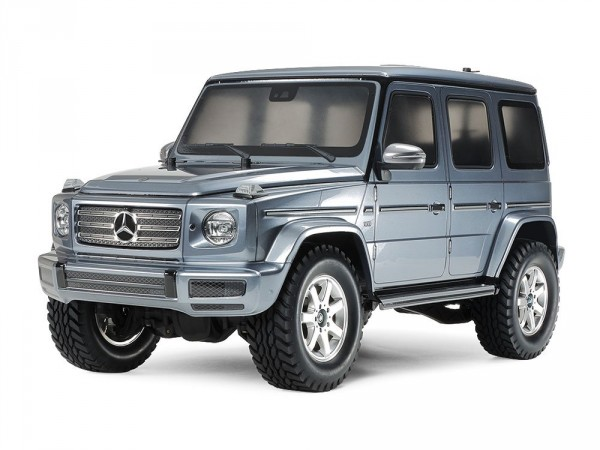 Tamiya 47441 Mercedes-Benz G 500 (Bright Gun Metal Painted Body) (CC-02) (1)