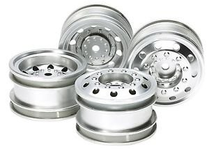 On Road Racing Truck Wheels - Silver (F&R) (1)