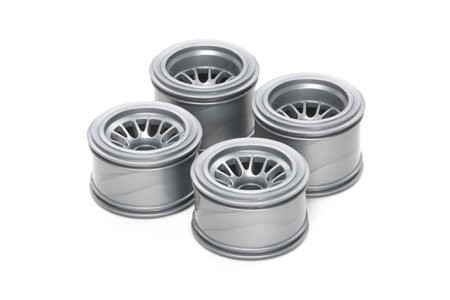 Tamiya F104 Mesh Wheels for Rubber Tires (1)