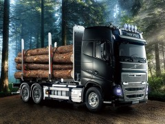 Tamiya 56360 Volvo FH16 Globetrotter 750 6×4 Timber (16)
