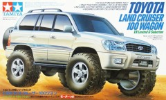 Tamiya #19021 - 1/32 JR Toyota Land Cruiser 100 Wagon VX-Limited G-Selection