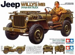 Tamiya 35219 Jeep Willys MB 1/4-ton 4x4 truck 1/35