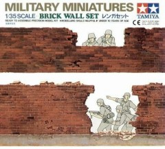 Tamiya 35028 Brick Wall Set 1/35