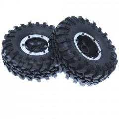 Pre-Mounted Tire Set (2)