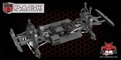 Redcat Racing GEN8 P-A-C-K Chassis Kit 1:10 4WD