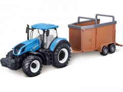 Bburago New Holland T7.315 s přívěsem