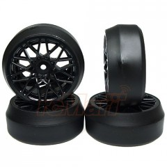 DRIFT pneu Spec D LS vč.disků Offset +6 Black sada 4ks (1)