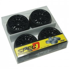 DRIFT pneu Spec D LS vč.disků Offset +6 Black sada 4ks (2)