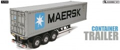 RC Container Trailer Maersk - 40ft 3-Axle