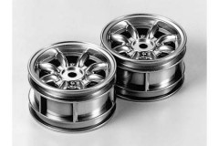 (50676) M Chasssis Mini Cooper Chrome Wheels 2ks