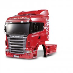 Tamiya Scania R620 6x4 Highline Body  (karoserie) (1)