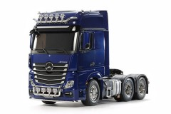 (56354)  RC Truck Mercedes-Benz Actros - 3363 6x4 GigaSpace Pearl Blue