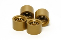 (54525) F104 Gold Wheel - For Sponge Tires