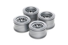 (51398) F104 Mesh Wheels for Rubber Tires