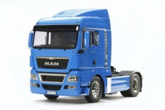 (56350)  RC Truck MAN TGX 18.540 4x2 XLX - Fench Blue Edition