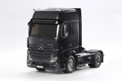 Tamiya RC Truck Mercedes-Benz Actros - 1851 Giga Space Black Edition