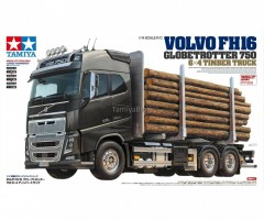 Tamiya 56360 Volvo FH16 Globetrotter 750 6×4 Timber (1)