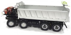 1:14 8x8 rear tipper with hydraulics for Tamiya cabs