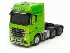 Tamiya (23801) Mercedes Benz Actros 3363 6x4 Full Option RTR (zelený)