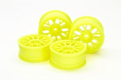 (54850) 24mm Med-Narrow Mesh Wheels Yellow/Offset +2 (4Pcs)